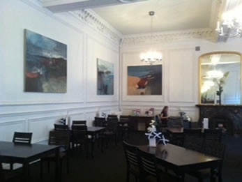 Paintings displayed at The Leeds Room